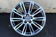 """Audi A7 A8 S7 RS7 S8 A6 S6 20"""" inch Factory Stock OEM Wheels Single Wheel Rims"""