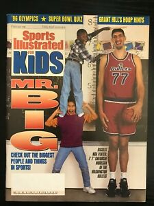 February 1996 Sports Illustrated For Kids Mr Big! Gheorghe Muresan
