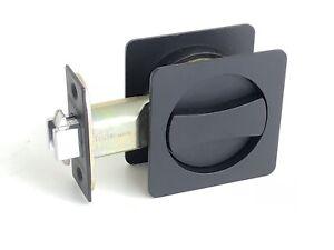 Cavity Sliding door Lock Privacy Function Matt Black New Design