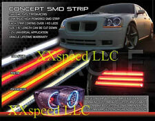 """ORACLE """"Concept"""" LED Strips- 12"""" Pair - WHITE/BLUE/RED/AMBER"""