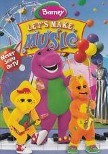 BARNEY - LET S MAKE MUSIC (MAPLE) (DVD)