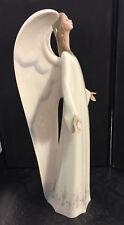 Nao by Lladro Porzellan Figur 1273 großer weißer Engel Spain Porzellanengel