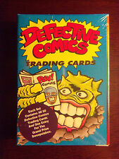1993 Defective Comics Factory Sealed 50 Card Set - Like Wacky Packages