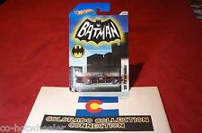 Hot Wheels - 66 TV Batmobile - 3/8 2012 Batman Series - 1:64 Black