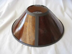 Hard to find - Round Mica Replacement Lamp Shade