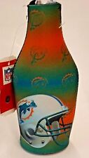 Nfl Miami Dolphins Bottle Cooler, Coozie, Koozie, Coolie, New