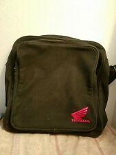 Genuine Honda Motorcycles Black Canvas Computer Lap Top Messenger Bag