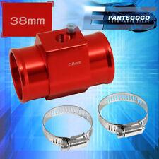 38Mm Radiator Hose Temperature Sensor Adapter Red  Breather Tank Adapter
