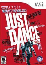 Just Dance [Nintendo Wii, NTSC, Ubisoft Original Music Dancing Video Game] NEW