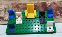 Lego Car Seat Bundle/Job Lot 4079, 2717. Blue, Yellow, White, Black Technics.