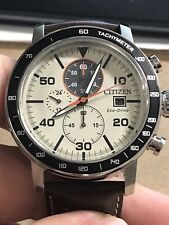 Citizen CA0649-06X Eco-drive Men's Watch. Brycen 49mm Chronograph Tachymeter