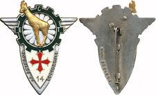 14° R.P.C.S, E.C.T, Sourire et efficacité, isard,roue vert foncé, Fraisse(6818)