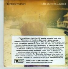 (CW176) Patrick Watson, Step Out For A While - 2012 DJ CD
