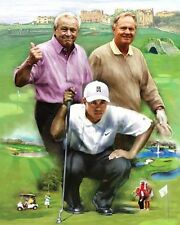 Nicklaus Palmer Woods:giclee print on canvas poster painting  N-047