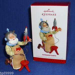 Hallmark Series Ornament Toymaker Santa #14 2013 Rocket Space Helmet Astronaut