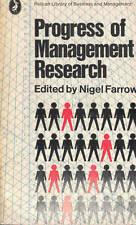 Farrow, Progress of Management Research, Penguin 1969
