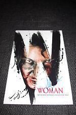"Pollyanna McIntosh SIGNED AUTOGRAFO SU 20x30 cm ""The Woman"" foto inperson look"