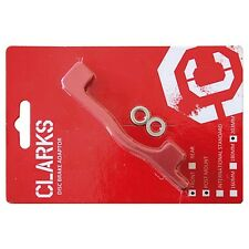 Clarks Disc Adapter / Brake disc Adapter red Front wheel for 203 mm PM