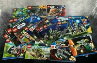 Huge LEGO Instruction Manual Bundle 32 Star Wars Monster Fighters Chima & More