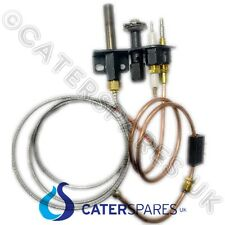 BLUE SEAL GAS FRYER THERMOPILE THERMOCOUPLE & IGNITION ELECTRODE PILOT ASSEMBLY