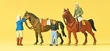 Preiser 10503 At The Riding School 00/H0 Model Rail Figures