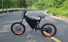 Stealth Bomber 1500W 60km/h+ Electric Ebike Mountain Electric Bike Moped Adult