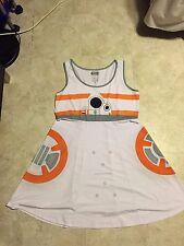 Star Wars Her Universe BB-8 Skater Dress Size XXL