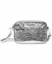 MICHAEL MICHAEL KORS POUCHES SMALL CAMERA Silver Crossbody Bag