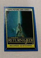 1983 Star Wars: Return of the Jedi #133 Topps Title Picture Card Series 2 NM
