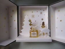 CHANEL No5 EDP 1.5ml MICRO MINIATURE WINTER WONDERLAND DISPLAY CASE MINT IN BOX