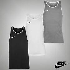New Mens Genuine Nike Lightweight Stretchy Cross Over Tank Top Size S M L XL XXL