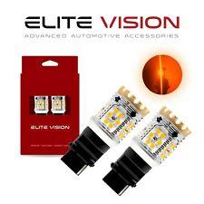 Elite Vision 3156 Amber LED Turn Signal Light Bulbs Kit for Ford 2600LM 3000K