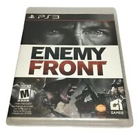 Enemy Front (Sony PlayStation 3, 2014) Mint Complete PS3