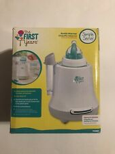 *�* The First Years 2-in-1 Simple Serve Food & Milk Bottle Warmer Quickly