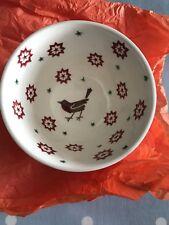 Emma Bridgewater Joy Star Robin Old Bowl