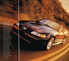 Big 2000 Ford MUSTANG Brochure / POSTER with Color Chart: GT,CONVERTIBLE,