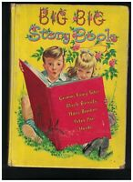 Big Big Story Books Children's Book 1941 Whitman Peter Pan Black Beauty Heidi