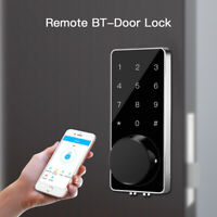 BT-Smart Door Lock Security Keyless Home Deadbolt Digital Electronic Phone Entry