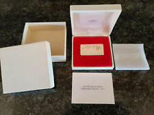 "New Listing1973 Franklin Mint Christmas  ""The Carolers"" Proof Silver Ingot 1000 Grains"