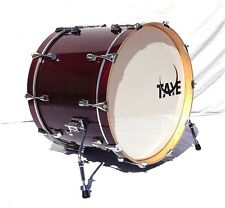 New Taye Drums StudioMaple 22x16 Virgin Bass Drum In Burgundy Red Finish
