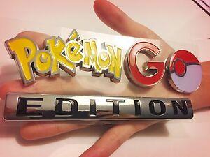 POKEMON GO EMBLEM ‼️ car truck For Nintendo Bracelet game plus Account FANATICS!