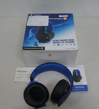 Sony Gold Wireless Headset Playstation 4 HEADPHONES ONLY - Please Read (48160)