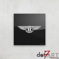 Bentley Badge Luxury Black Open Edition Print
