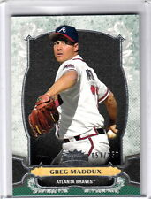 2014 Topps Triple Threads Greg Maddux Atlanta Braves Emerald Parallel /250