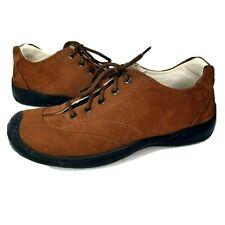 Zegna Sport Casual Sneakers Shoes Brown Suede Men's Size Eu 9 / US 10 EUC