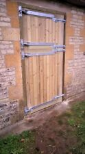 2 pairs of 30 inch galvanised adjustable gate & door hinges wooden gates fence