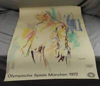 Oskar Kokoschka , Kouros II - Plakat Olympische Spiele München - 101x64 (1)  /O