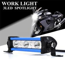 Slim 4Inch 9W LED Work Light Spot Beam Bar Lamp Single Row Off road Car 4WD SUV