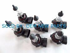 GE 6 X H10 9145 Halogen 42W 12V Fog Light Bulbs Clear Light OEM (QTY 6 )