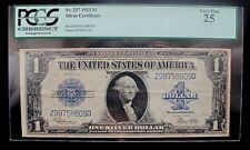$1 SERIES OF 1923 SILVER CERTIFICATE * PCGS 25 VERY FINE *